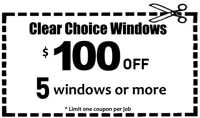 $100 off 5 windows coupon