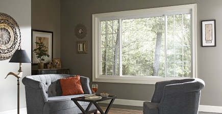 Mezzo Energy-Efficient Vinyl Windows